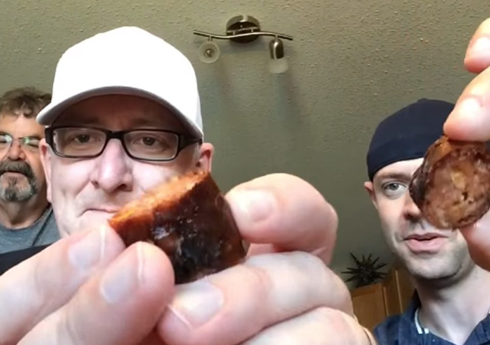 Premium Sausage on KJ and Kirby Food Review